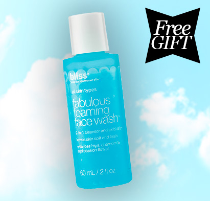 Bliss Free Foaming Face Wash