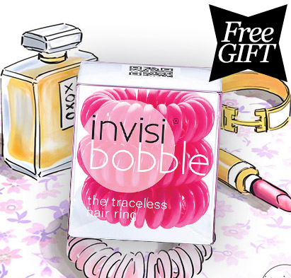 Free Pink Original Invisibobble with 2 Invisibobble Purchases