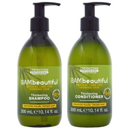 BAMbeautiful Thickening Shampoo 300ml and Thickening Conditioner 300ml Duo