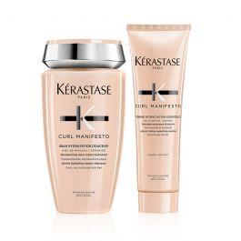 Kérastase Curl Manifesto Bain Hydratation Douceur Shampoo 250ml & Fondant Conditioner 250ml Duo