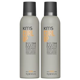 KMS CurlUp Wave Foam 200ml Double