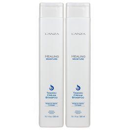 L'ANZA Healing Moisture Tamanu Cream Shampoo 300ml Double