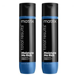 Matrix Total Results Moisture Me Rich Conditioner for Dry Hair 300ml Double