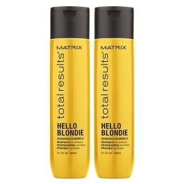 Matrix Total Results Hello Blondie Shampoo to Protect all Blonde Hair Types 300ml Double