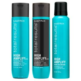 Matrix Total Results High Amplify Shampoo, Conditioner 300ml and Wonder Boost Pack