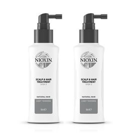 Nioxin System 2 Scalp & Hair Treatment for Natural Hair with Progressed Thinning 100ml Double