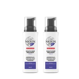 Nioxin System 6 Scalp & Hair Treatment for Chemically Treated Hair with Progressed Thinning 100ml Double