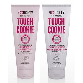 NOUGHTY Tough Cookie Strengthening Shampoo 250ml and Conditioner 250ml Duo