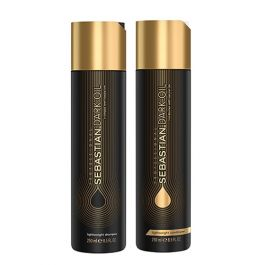 Sebastian Professional Dark Oil Lightweight Shampoo & Conditioner 250ml Duo