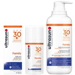 Ultrasun Super Sensitive Family SPF30 100ml & 400ml Duo