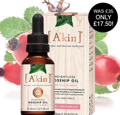Akin Weightless Rosehip Oil