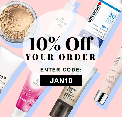 January 10% Off Code JAN10