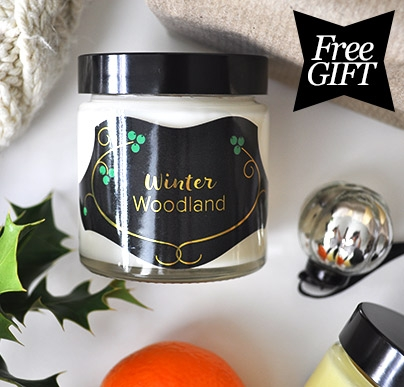 Free Redken Winter Woodland Candle