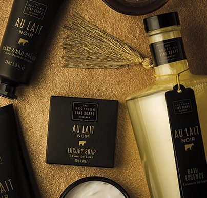 Scottish Fine Soaps Au Lait Range