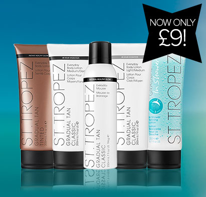 St Tropez Gradual Tanners Only £9