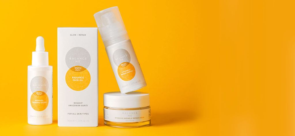 balance me products made from recycled plastic