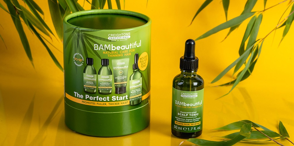 BAMBeautiful The Perfect Start and scalp tonic for hair fall and hair loss