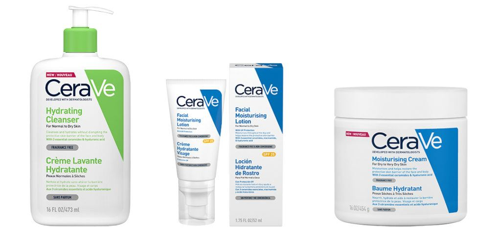 cerave products for daily skincare routine