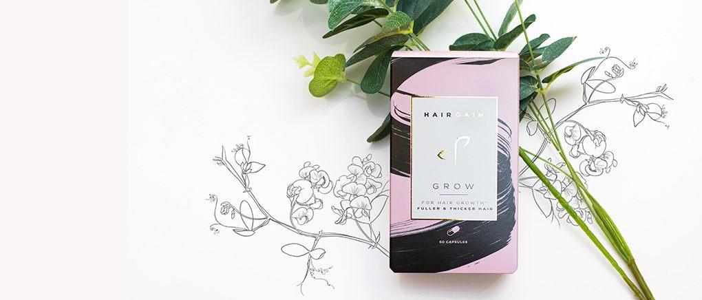 Hairgain GROW capsules for hair fall and hair loss