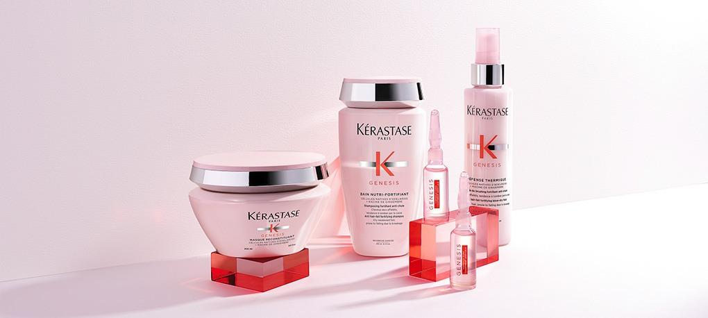 kerastase genesis products including shampoo