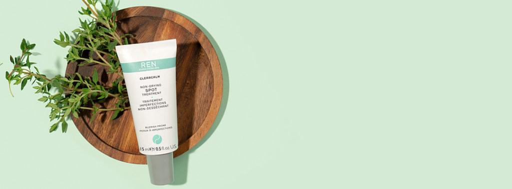 ren spot treatment comes in eco-friendly packaging