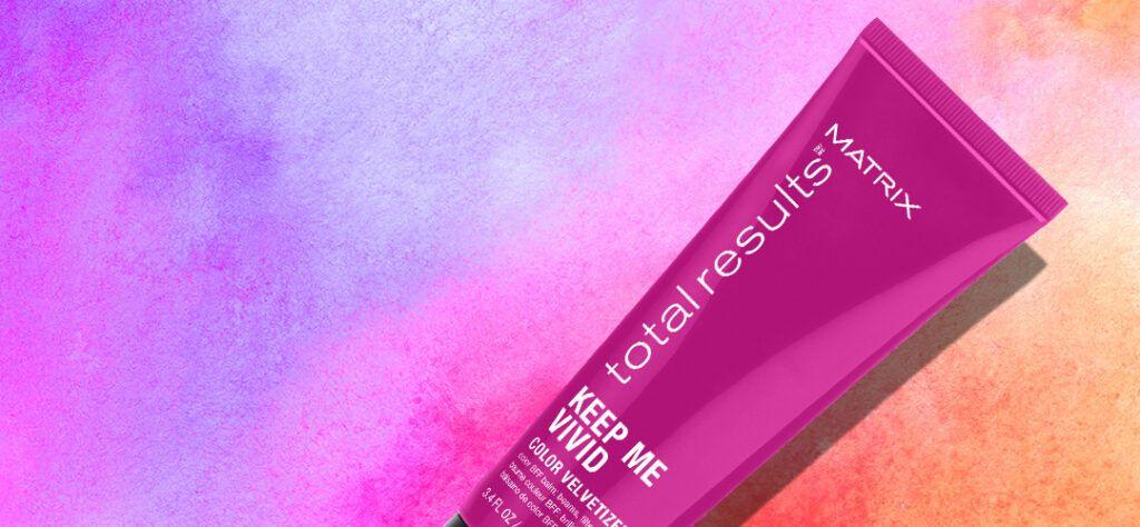 fight colour fade with matrix's keep me vivid velvetizer