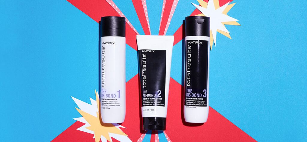 re-bond system from matrix for hair repair