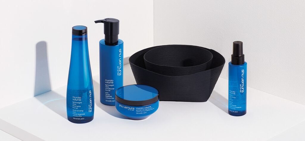 shu uemura muroto volume collection products