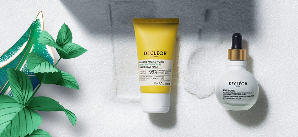 decleor antidote and rosemary clay mask