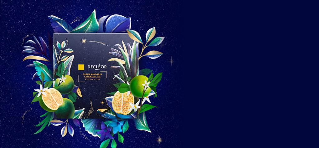 decleor christmas 2020 green mandarin gift set