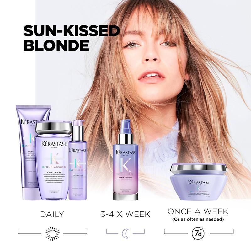 Kérastase Regime for Sun-Kissed Blonde Hair