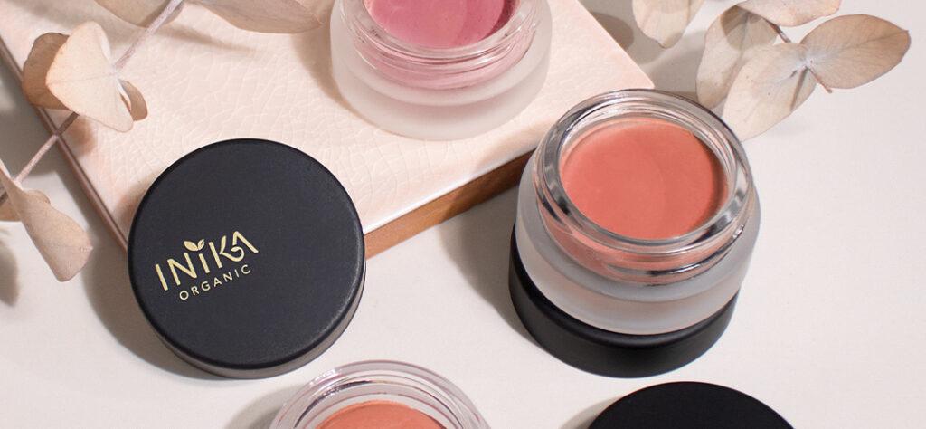inika spring makeup cheek cream