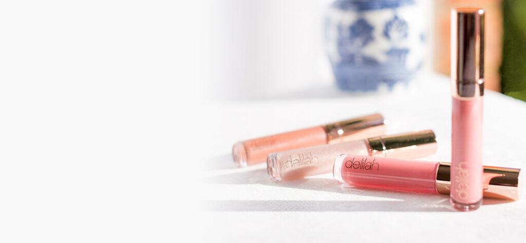 four delilah makeup lip glosses for ultimate shine